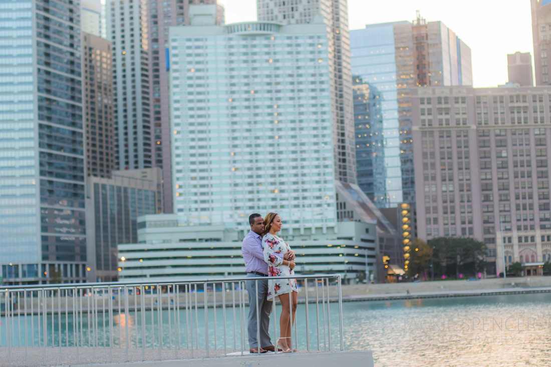 chicago engagement photography fall sunset 6
