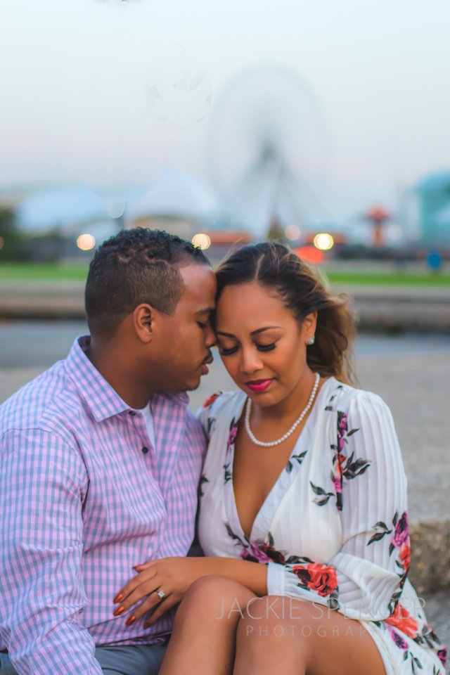 chicago engagement photography fall sunset  8