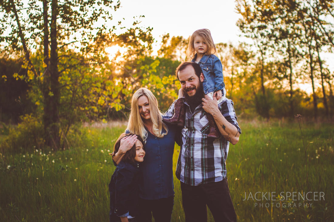 chicago family photographer sunset 11