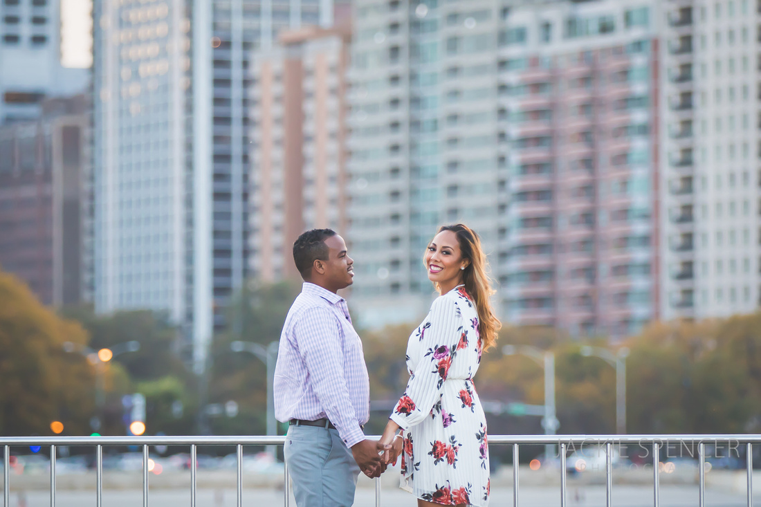 chicago engagement photography fall sunset 2